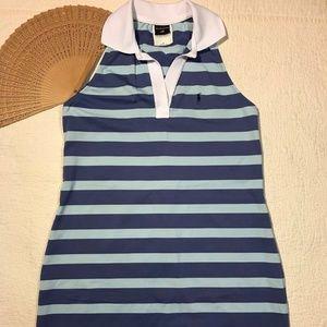 Ralph Lauren Sport Mini DressStripes Sleeveless  M